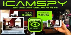 "iCamSpy: video surveillance apk v1.3.2 in your home / office at no cost ""zero"" - Tech Passion with Tech Updates"