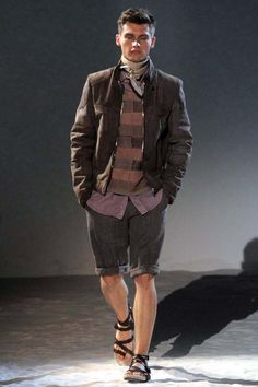 Like the sandals... that's all... Corneliani Man S/S 2012