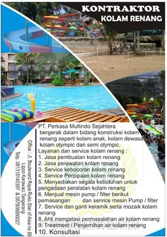 Kontraktor Waterpark: KONTRAKTOR KOLAM RENANG