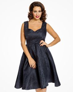 Marcell Navy Twin Set   Vintage Inspired Fashion   Lindy Bop