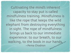 quotes about mindfulness - Google Search