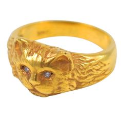 Diamond Eyed Cat Ring, 1970