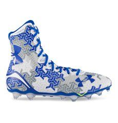 These stylish football cleats are perfect for any teenage boy who wants to look good in athletic pictures.