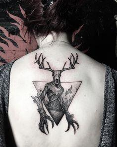 Today's tattoo Today's tattoo Scary Tattoos, Back Tattoos, Arrow Tattoos, Future Tattoos, Body Art Tattoos, Girl Tattoos, Witcher Tattoo, Simpsons Tattoo, Autumn Tattoo