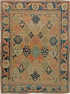 Persian rugs: Persian rug (antique)  colorful rug, oriental rug, oriental pattern for modern, elegant interior decor, rug in living room #rug #persianrug