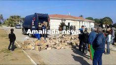 ΕΛΛΗΝΙΚΗ ΔΡΑΣΗ: Πρόσφυγες λεηλάτησαν τις αποθήκες τροφίμων στο Κέν...