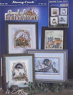 Stoney Creek Collection Land Of Enchantment - Cross Stitch Pattern. Join the Land of Enchantment with five fantastic designs - Castlestitch count 134x150, Drago