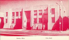 Xenia Ohio, Postcards, History, Abstract, City, Artwork, Summary, Historia, Work Of Art