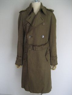 Junya Watanabe Comme des Garcons Military Trench Coat size S