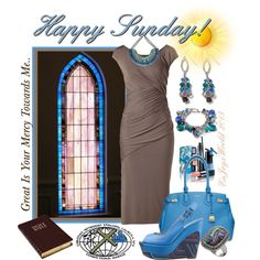 """""""HAPPY SUNDAY!!! Great Is Thy Faithfulness/Great Is Your Mercy Towards Me!!!"""" by enjoyzworld on Polyvore"""