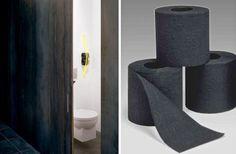 Renova Black Toilet Paper