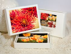 Mothers Day Gift  Boxed Greeting Cards  Floral by SandieConry
