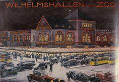 Berlin 1930 Poster Wilhemshallen und Ufa-Palast am Zoo