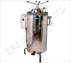 Vertical Autoclaves for Laboratory (Double Wall Radial lock type)