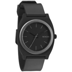 Nixon Men's A1191308-00 Black Polyurethane Quartz Watch with Black Dial | Overstock.com