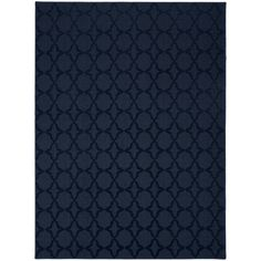 Style and value are what you get with this area rug. Designed specifically for someone seeking value and style. The classic trellis design on this rug will be the perfect accent for any room. Great for that first apartment, college dorm room, living room, home office, or any room needing a classic update. This rug is machine tufted low pile cut and loop in Olefin yarn on traditional action back backing. Action back may require the use of a rug pad or gripper depending on floor type.