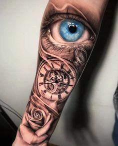 Clock Tattoo Meanings | CUSTOM TATTOO DESIGNCUSTOM TATTOO DESIGN