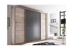 Bild 3 von 4 Built In Bedroom Cabinets, Bedroom Wall Units, Farmhouse Master Bedroom, Small Room Bedroom, Closet Con Tv, Tv Wall Decor, Wardrobe Design Bedroom, Closet Designs, Home Office Design