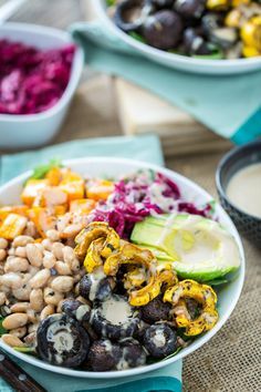 More than 45 healthy lunch bowl recipes to keep your lunch exciting! Healthy lunch recipes to fuel you all afternoon long, including vegetarian options. Healthy Grains, Healthy Snacks, Healthy Eating, Healthy Recipes, Lunch Bowl Recipe, Roasted Winter Vegetables, Orzo, Make Ahead Lunches, Work Lunches