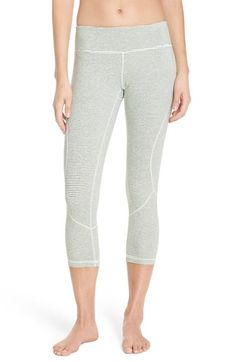 Zella 'Live In' Crop Leggings available at #Nordstrom