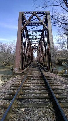 old trestle between Belvidere and Garden Prairie