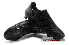 New adidas adiPower Predator TRX FG Blackout Soccer Cleats for sale at http://www.soccerrange.com/