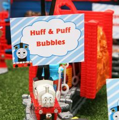 "Train / Birthday ""Thomas The Tank Engine 1st Birthday"" | Catch My Party"