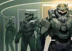 Master Chief armor in progression