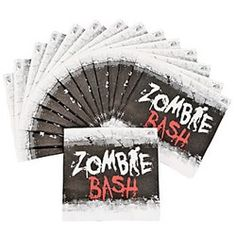 Zombie Party Beverage Napkins (16 Pack)