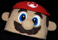 Nerdy Knit Beanies With Mario, Creepers, Buzz Lightyear and More!