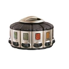 Spice up your kitchen with this sleek KitchenArt Pro Auto-Measure Spice Carousel for $23.59!