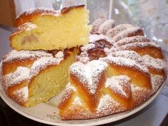 Manna 2 cups semolina, 1 cup of sugar, 1 cup of yogurt, 1 cup sour cream 2 eggs All mix and allow to stand for at least half an hour. Chef Recipes, Sweet Recipes, Cooking Recipes, Ukrainian Recipes, Russian Recipes, Food Cakes, Food To Make, Good Food, Food And Drink