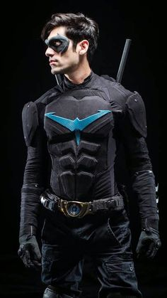 Very cool Nightwing ( actor Danny Shepherd) from Ismahawk's kick starter Nightwing series campaign!