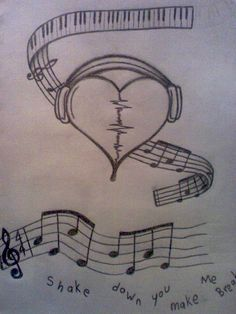 music tattoos by Fritts839.deviantart.com