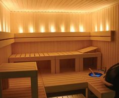 Finnish Sauna - Great time in Helsinki, though way too short!