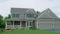 Well designed 4 bedroom Farmhouse style home.  Farmhouse Home Plan # 271054.
