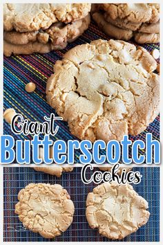 This easy butterscotch cookie recipe is chewy, soft, crispy, sweet, and so easy to make! Perfect for the holidays, you will love baking these simple desserts! Family-friendly and perfectly gooey. #FallFlavors #ad @dixiecrystals Butterscotch Cookies Recipes, Caramel Cookies, Best Cookie Recipes, Bar Recipes, Best Dessert Recipes, Amazing Recipes, Easy Desserts, Chocolate Chip Cookies, Dinner Recipes