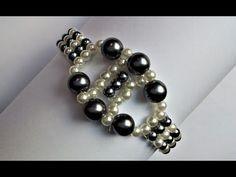 Beautiful beaded bracelets. Super easy tutorial - YouTube