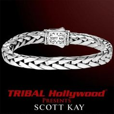 Find the best selection of Scott Kay mens jewelry at Tribal Hollywood. Choose from wedding bands, cufflinks, silver and leather bracelets, necklaces, and rings. Cool Rings For Men, Scott Kay, Dragon Bracelet, Baby Bracelet, Black Sapphire, Bracelets For Men, Leather Bracelets, Bracelet Patterns, Stainless Steel Bracelet