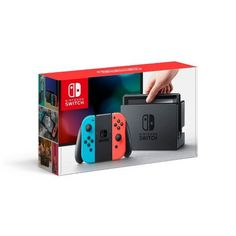 Nintendo® Switch™ with Neon Blue and Neon Red Joy-Con™ : Target