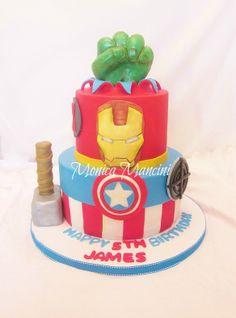 The Advenger's Cake!