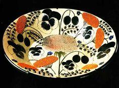 Bowl for Arabia by Finnish ceramic artist designer Birger Kaipiainen Glass Ceramic, Ceramic Plates, Porcelain Ceramics, Ceramic Pottery, Pottery Art, Modern Ceramics, Contemporary Ceramics, Francis Picabia, Vintage Design