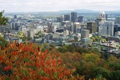 """Montreal Tourism to the most populous city in the Province of Quebec and second in Canada, after Toronto. Originally called Ville Marie or the """"City of Mary"""" it was renamed after Mount Royal, the triple-peaked hill in the heart of the city. Mont Royal Montreal, Of Montreal, Montreal Canada, Time Travel, Us Travel, Amsterdam, Canada Pictures, Carcassonne, Tourist Information"""