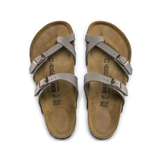 68b8e6a3358a BIRKENSTOCK Mayari Birko-Flor Nubuck Stone in all sizes ✓ Buy directly from  the manufacturer online ✓ All fashion trends from Birkenstock