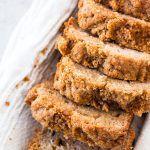 This Whole Wheat Cinnamon Crunch Banana Bread is a fun breakfast idea. Healthier with Greek yogurt, oil & whole wheat flour, yet such a special treat!