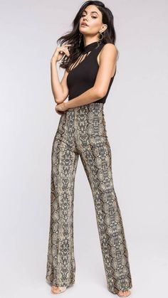 661712b739752 8 Best Snake print pants images