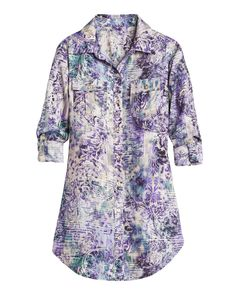 Coco + Kelley Packing Picks: Chico's Divine Damask Athens Shirt. @cocokelley
