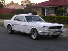 In the summer of 1969 (I think), my uncle lived in Naples Florida and had a 1966 Mustang coupe like this one in his garage. I thought it was all toooo cool.