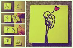 Um amor verdadeiro supera tudo. :) #Love.
