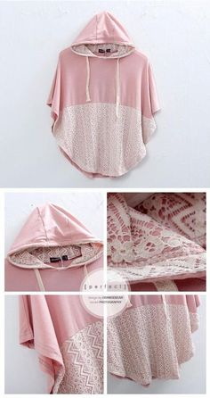 poncho hoodie